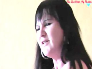 immodest british wife ding-dong and cum covered