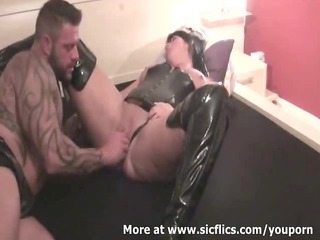 brutally fisting my wifes massive cunt untill she