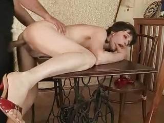 fucking a sexy granny!