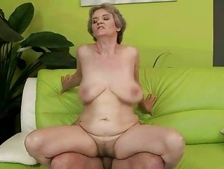 hot breasty granny engulfing and fucking biggest