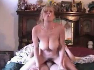 hot mother i with big natural bazookas smokes