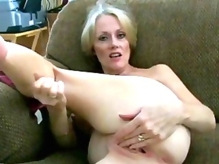 breasty golden-haired d like to fuck shows her