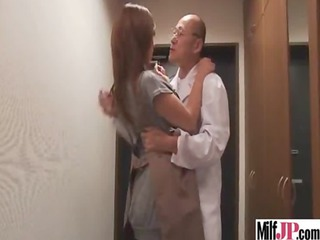 breasty cute oriental milf receive screwed hard