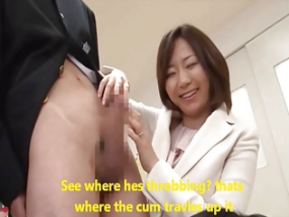 mother helping not their sons with sex ed part 8