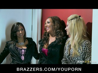 breasty cheating lascivious wives fuck a large