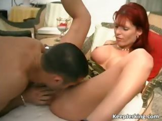 fantastic red head mother i bonks with some
