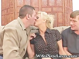 recent paramour for wife with muff hubby