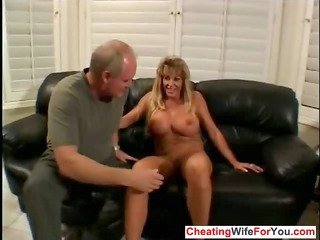 abode wife screwed in front of husband