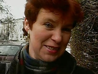 mature german lady shows off