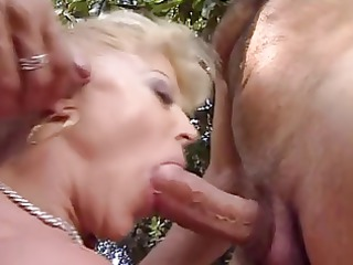 beautiful mature italian golden-haired screwed