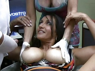 enormous chested lalin girl milfs receives