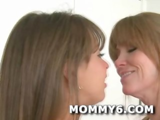 ultimate mamma and daughter dream threeway
