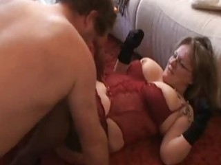chubby and breasty dilettante wife sucks and bonks