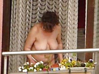 spyed older large tits