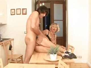 golden-haired anal aged