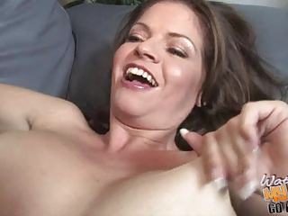 cum hungry white mother go darksome during the