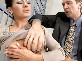 sandra romain - prison anal sex
