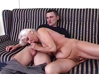 urinate granny in satin make water and fuck