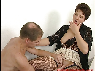 mature secretary in office craves cum