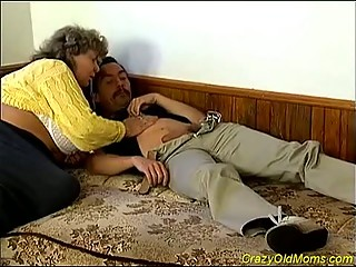 enormous granny receives fucked