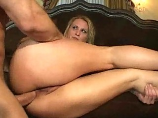 blond mother i receives an anal banging fuck fest