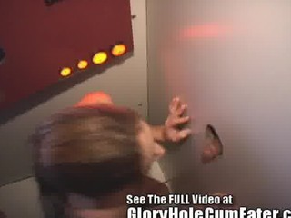redheaded slut wife mary is a gloryhole cock