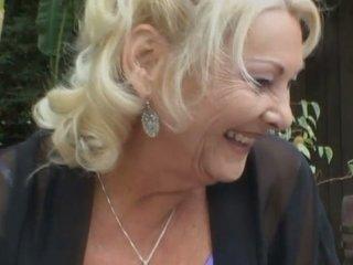 bbw granny blond