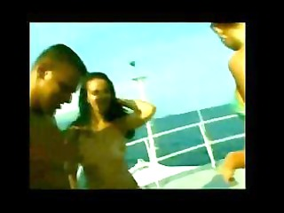 brasilian groupsex on a boat