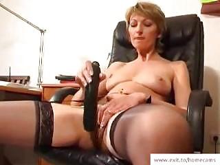older stella in her homemade masturbation movie