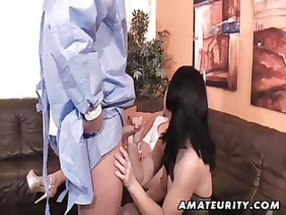 hot non-professional bitches engulf and fuck one