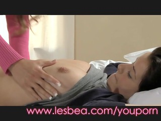lesbea innocent legal age teenager and breasty