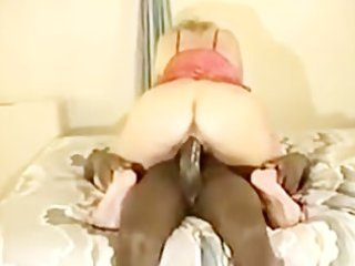 older couger has interracial sex