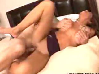 large boob babe hunter receives screwed