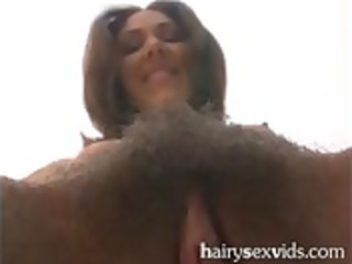 sexy mother i receives her unshaved cookie