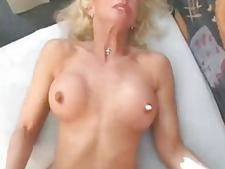 mature german golden-haired wants to make a porn