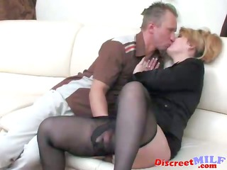 hot blond milf get bulky weenie in her a-hole