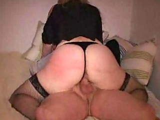 milfs rally chubby ass jiggles as she rides cock