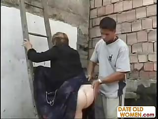 large ass german granny act