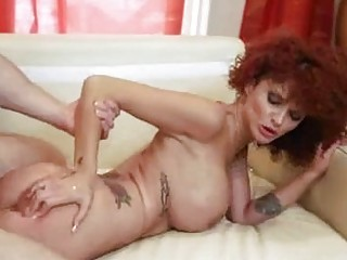 unshaved redhead mother i receives her shaved