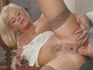 sexy italian milf enjoys double penetration by