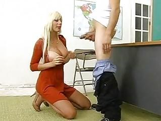 excited milf puma swede hooks her throat on