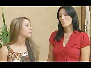 lesbian older mother younger beauty