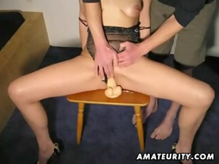 aged redhead amateur wife sucks and fucks