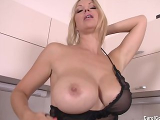 carol goldnerova kitchen striptease