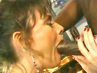 older 10 acquires darksome dick in her a-hole