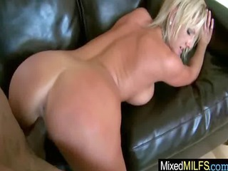 naughty milfs receive drilled by darksome cocks