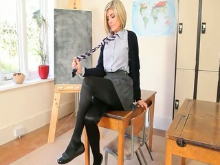 pleasant teacher teasing body just for