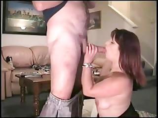 wife engulf jock a husband