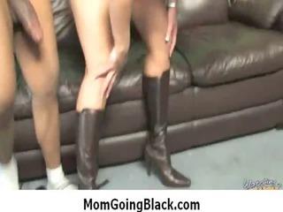 interracial milf porn - slutty mommy desire big