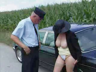 sex-frenzied rich granny gets romped by her